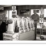 Late 50's Look Inside the Store
